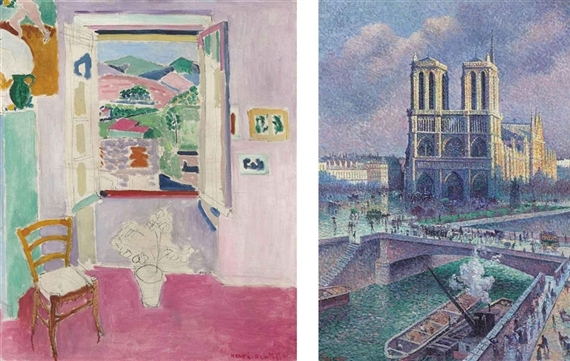 Christie 39 s and sotheby s mutualart for Henri matisse fenetre