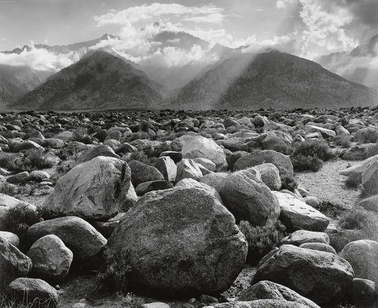 Adams Ansel | Clearing Storm, Mount Williamson, From ... Ansel Adams Clearing Winter Storm Analysis