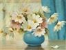 Mae Bennett Brown, Cosmos Floral Still Life