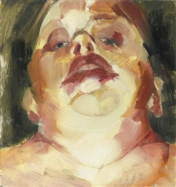 Jenny Saville, Self Portrait