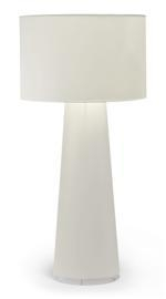 Artwork by Marcel Wanders, FLOOR LAMP, Made of White plastic-coated fabric and metallic frame
