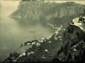 Artwork by Karl Struss, The Cliffs, Made of Photogravure