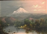 Eliza Rosanna Barchus, Mt. Hood at sunset