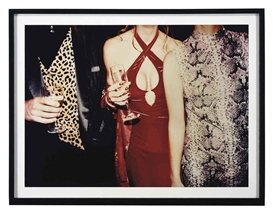 Artwork by Jessica Craig-Martin, Vanity Fair Oscar Party Los Angeles, 1997, Made of chromogenic print