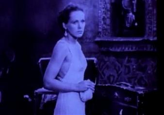 Rose Hobart (film still) by Joseph Cornell, 1936