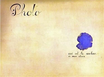This is the Colour of My Dreams by Joan Miro, 1925