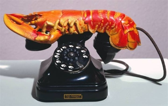 Lobster Telephone, by Salvador Dali