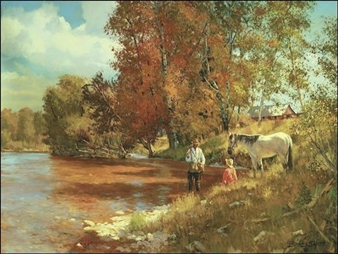 Fishing in Fall By Brett James Smith ,2011