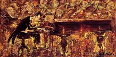 Mark Tochilkin, The pianist