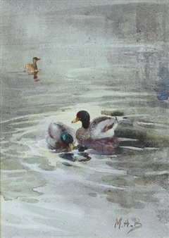 A DUCK POND By Mildred Anne Butler