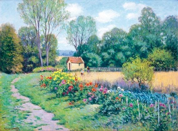 Lema tre maurice fleurs plaine saint lange mutualart for Le jardin des fleurs bourges