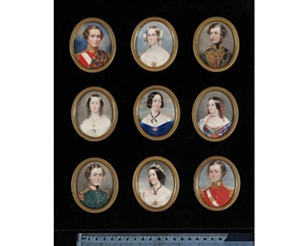 9 works: portraits of the grandchildren of Spencer Perceval, the children of Michael Henry Perceval By Cornelius Beavis Durham, James Holmes ,1847