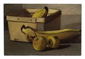 John Frederick Peto, Still Life with bananas