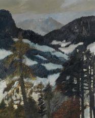 Artwork by Guy Bardone, Vallée de Sagogne, Made of Oil on canvas