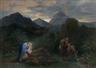 Philippe-Jacques van Bree, Le repos pendant la fuite en Egypte