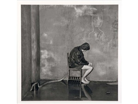 Roger Ballen, Bitten, from the Shadow Chamber series