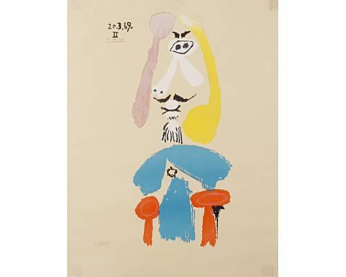 Pablo Picasso - L\' Age du Soleil, 1950, Heliogravure