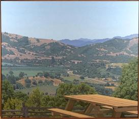 Artwork by Sandra Mendelsohn Rubin, Anderson Valley, Made of Oil on canvas