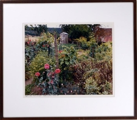 Artwork by Frank Gohlke, Poppies, Onions, Grapes - Chateau de Biron, Made of Ektacolor print