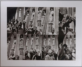 Artwork by Michael Spano, The Saints, 1982, Made of Black and white photograph