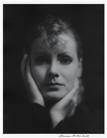 Artwork by Clarence Sinclair Bull, Greta Garbo, 1929, Made of gelatin silver print