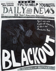 Aleksandra Mir, Blackout (7 July 1999)