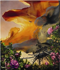 Artwork by Alexis Rockman, La Vie en Rose, Made of Oil on wood