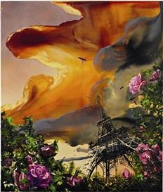 Artwork by Alexis Rockman, La Vie en Rose, Made of Oil on wood