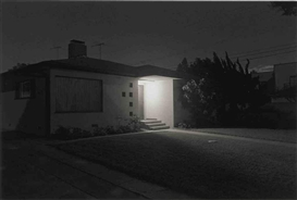 Artwork by Henry Wessel, Night Walk No. 28, Los Angeles, 1995, Made of gelatin silver print