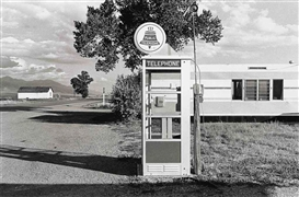 Artwork by Henry Wessel, Buena Vista, Colorado, 1973, Made of gelatin silver print