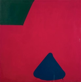 Artwork by Paul Huxley, UNTITLED NO. 46, Made of acrylic on canvas