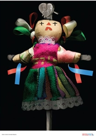 INRI in AIDS, Unite Against AIDS in Children, Mexico, 2007 (Design: Carlos M. González Manjarrez, UNICEF)