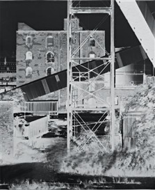 Artwork by Vera Lutter, House, Erie Basin, Red Hook, Made of gelatin silver print