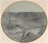 Francois-Auguste Ravier, Paysage vers Crémieux