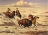 Fred Duran, Winter hunt, Blackfoot