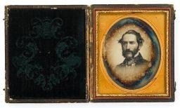 Artwork by Marcus Aurelius Root, Morrison Foster, Brother of Stephen Foster, Made of sixth plate daguerreotype