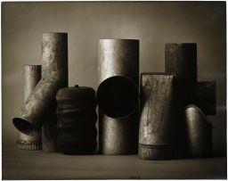 Artwork by John Jonas Gruen, Pipes, Made of Gelatin silver print