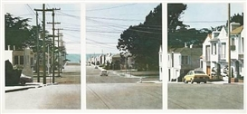 Robert Bechtle, Sunset Intersection