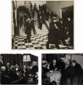 Artwork by Erich Salomon, 5 works: Selected Images, Made of gelatin silver prints
