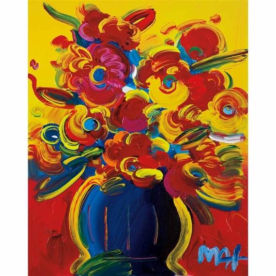 Max Peter Vase Of Flowers Series Xiv Version V 29 2009 Mutualart