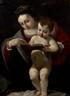 Giovanni Lanfranco, Vierge à l'enfant