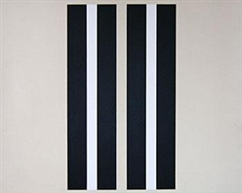 Artwork by Gordon Walters, Untitled (Vertical Bars), Made of Acrylic on canvas