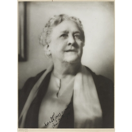 Artwork by Arnold Genthe, Portrait of Sara Delano Roosevelt