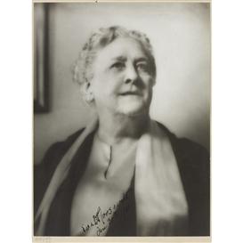Artwork by Arnold Genthe, Portrait of Sara Delano Roosevelt
