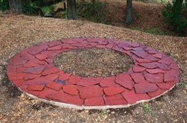 Richard Long, Red Fall Ring