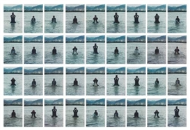 Artwork by Song Dong, 36 Works: Stamping the Water, Made of Chromogenic print
