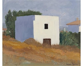 Artwork by Andrew Macara, White House. Sitges, Made of oil on canvas