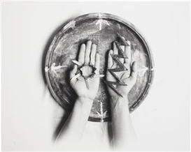 Artwork by Marta María Pérez Bravo, Oddun para 1997, Made of Gelatin silver print