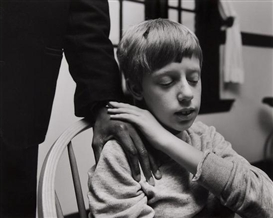 Artwork by Nicholas Nixon, Joel Geiger, Perkins School for the Blind, Watertown, Massachusetts, 1992, Made of gelatin silver print