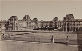 Artwork by Édouard-Denis Baldus, 24 works: Vues de Paris, Photographies, ca.1860, Made of albumen prints, on contemporary mounts